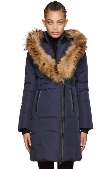 Mackage - Navy Down Kay Coat