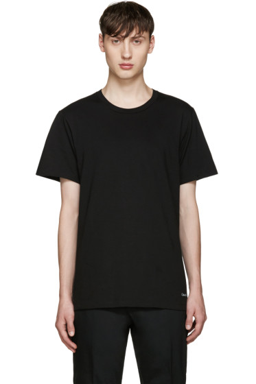 Calvin Klein Underwear - Three-Pack Black Classic-Fit T-Shirt
