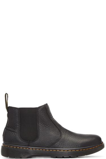 Dr. Martens - Black Lyme Boots
