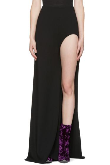 Haider Ackermann - Black Open Leg Skirt