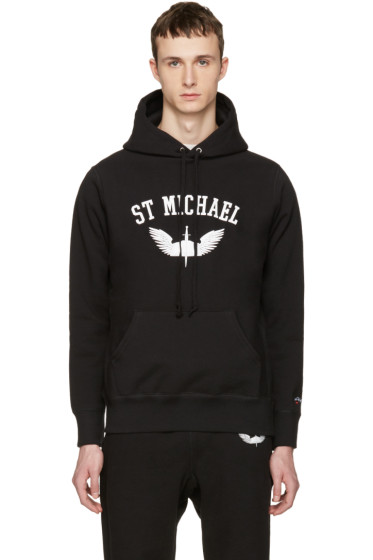 Noah - Black St-Michael Hoodie