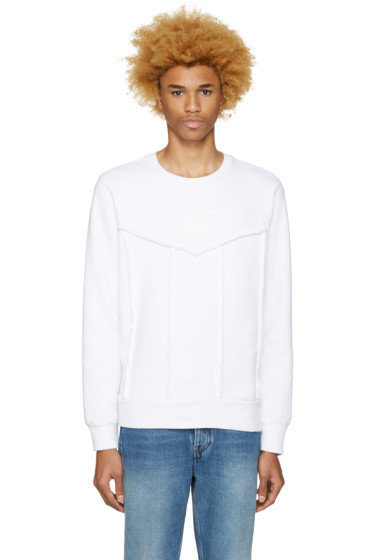 Diesel - White S-Capitan Sweatshirt