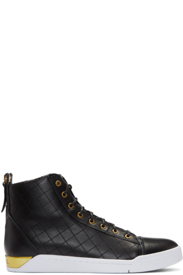 Diesel - Black Diamond High-Top Sneakers