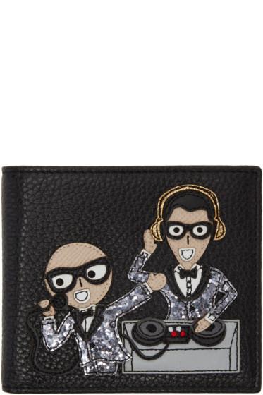 Dolce & Gabbana - Black Designers DJ Wallet