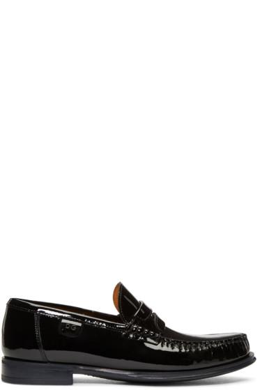 Dolce & Gabbana - Black Patent Loafers