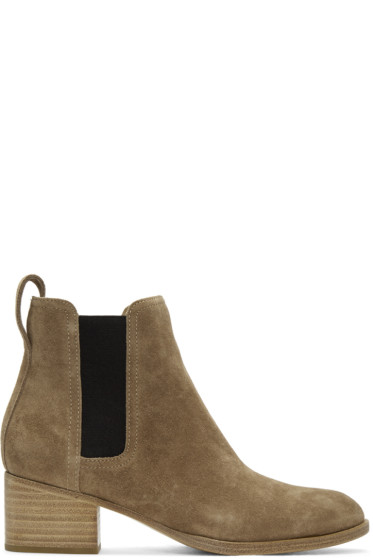 Rag & Bone - Brown Suede Walker Boots