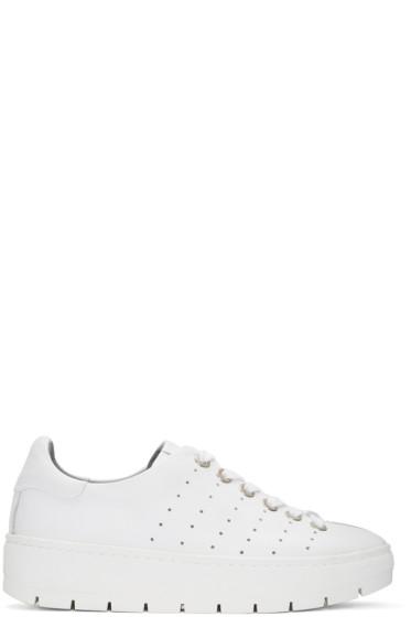 Rag & Bone - White Linden Sneakers