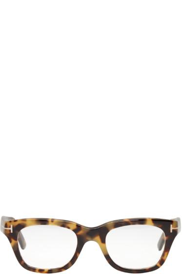 Tom Ford - Tortoiseshell TF 5178 Glasses