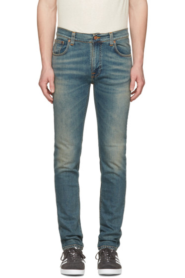 Nudie Jeans - Navy Thin Finn Jeans