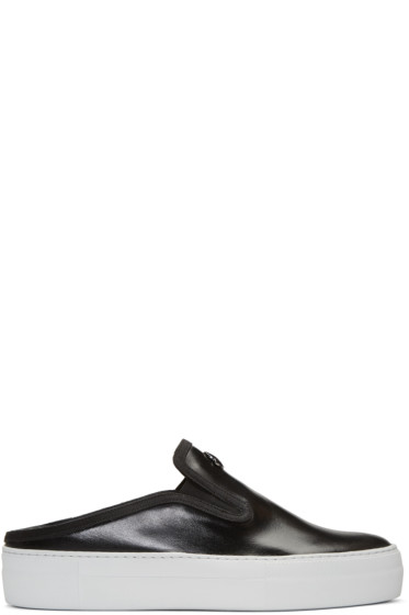 Moncler - Black Tiphanie Slip-On Sneakers