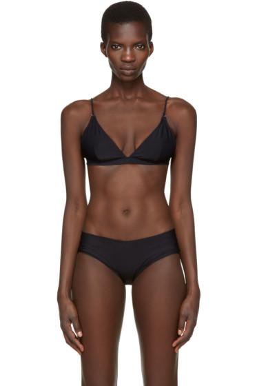 Acne Studios - Black Hedea A Bikini Top