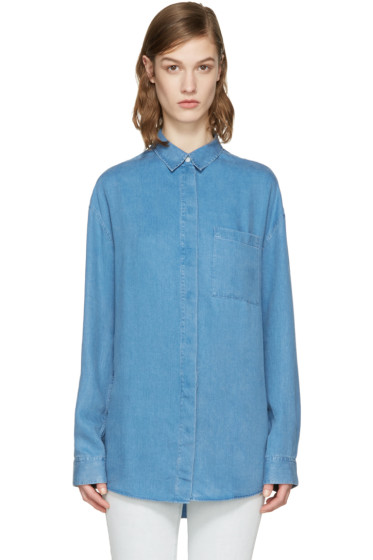 Acne Studios - Indigo Denim Bela Shirt
