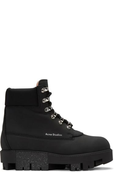 Acne Studios - Black Telde Hiking Boots