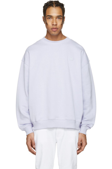 Acne Studios - Purple Yana Face Pullover