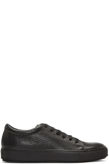Acne Studios - Black Adrian Grain Sneakers