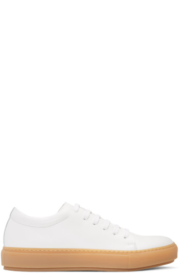 Acne Studios - White Adrian TurnUp Sneakers