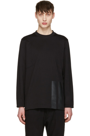 Y-3 - Black Soft Pullover