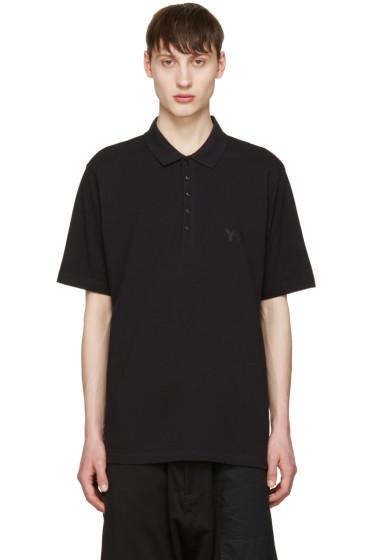 Y-3 - Black Seasonal Polo