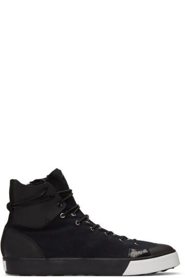 Y-3 - Black Sen High-Top Sneakers