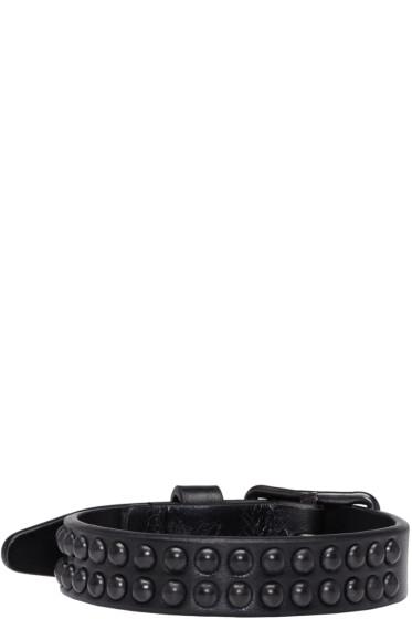 Dsquared2 - Black Studded Bracelet