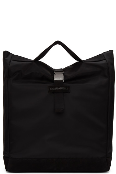 Dsquared2 - Black Nylon Shopper Tote