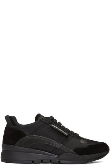 Dsquared2 - Black Panelled Sneakers