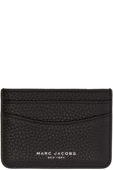 Marc Jacobs - Black Leather Gotham Card Holder