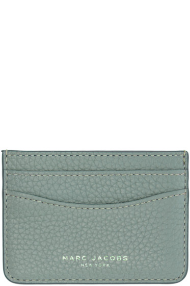 Marc Jacobs - Blue Leather Gotham Card Holder