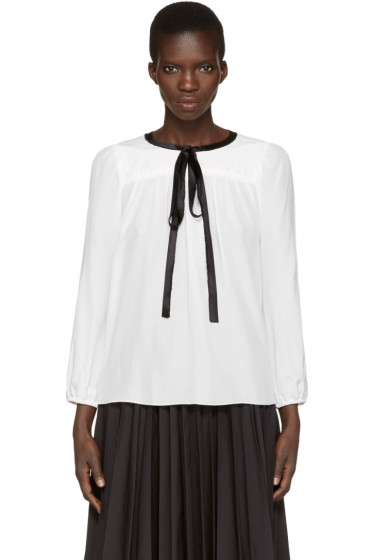 Marc Jacobs - White Silk Blouse