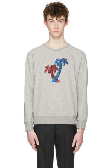 Marc Jacobs - Grey Palm Trees Pullover