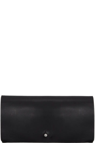 Rick Owens - Black Medium Flat Wallet