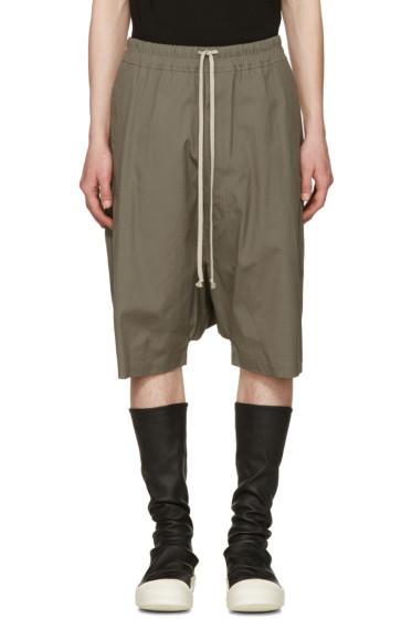 Rick Owens - Grey Ricks Pods Shorts