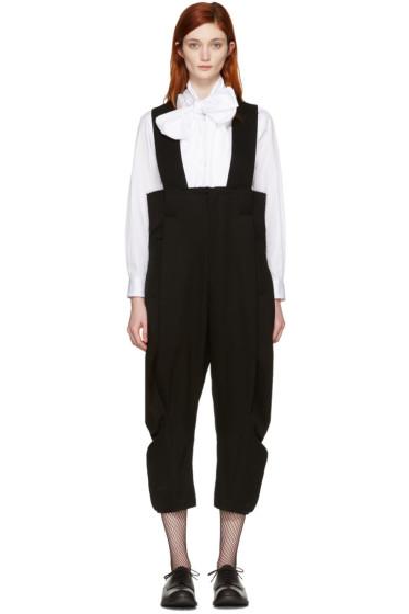 Comme des Garçons - Black Suspenders Trousers