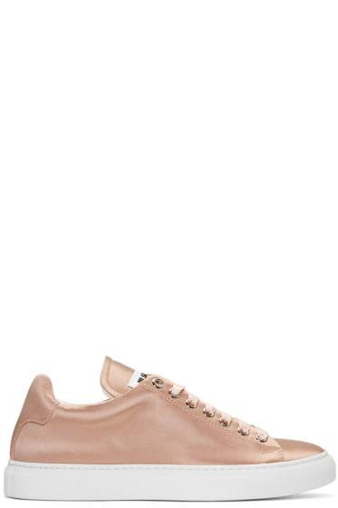 Jil Sander - Pink Satin Sneakers