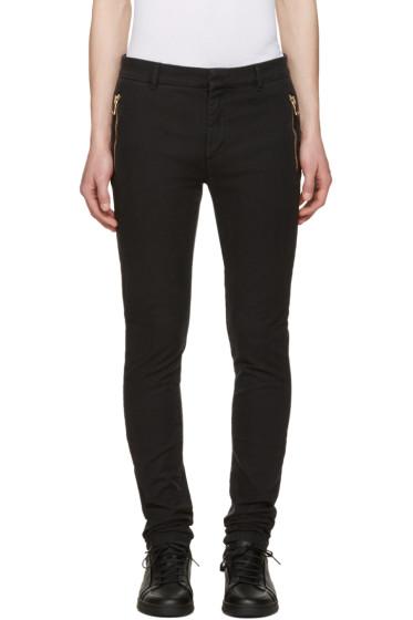 Balmain - Black Slim Trousers