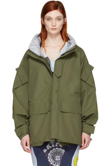 Junya Watanabe - Khaki Triple Layer Jacket