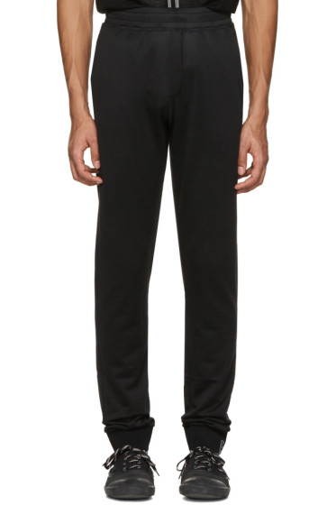 Lanvin - Black Worn Lounge Pants