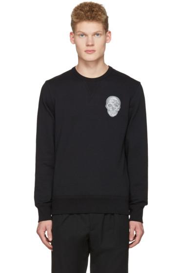 Alexander McQueen - Black Skull Pullover
