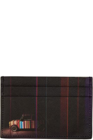 Paul Smith - Black Mini Cooper Card Holder