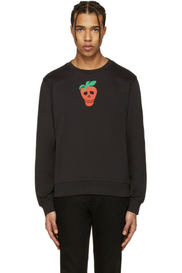 Paul Smith - Black Strawberry Skull Pullover