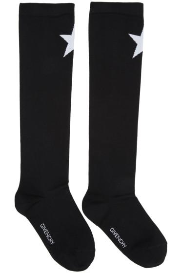 Givenchy - Black Star Socks
