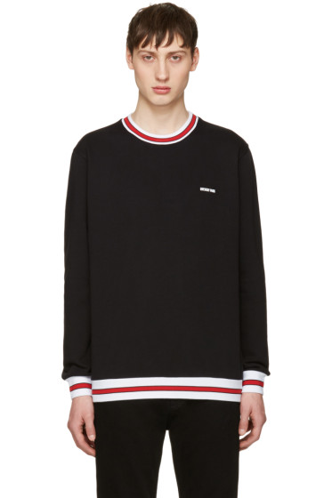 Givenchy - Black Contrast Collar Sweatshirt