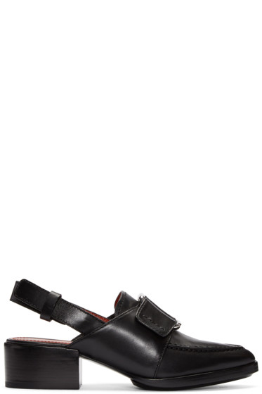 3.1 Phillip Lim - Black Buckle Loafers