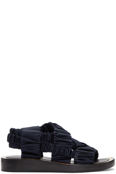 3.1 Phillip Lim - Navy Nagano Sandals