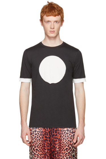 3.1 Phillip Lim - Black No Logo T-Shirt