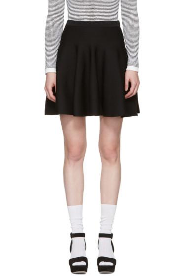 Carven - Black Knit Miniskirt