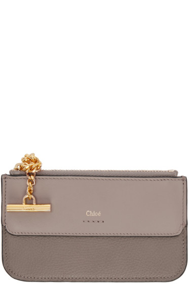 Chloé - Grey Joe Card Holder