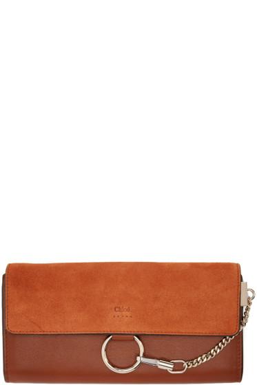 Chloé - Brown Medium Faye Wallet