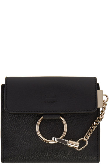 Chloé - Black Small Faye Wallet
