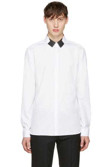 Neil Barrett - White Star Collar Shirt